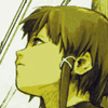 lain thoughtful