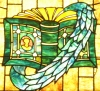 writing-stained_glass_book