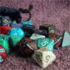 My geeky side!! RPG dice