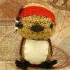 sparrow stuffed bird