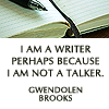 writer not talker