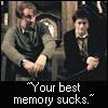 Remus: Harry's best memory sucks