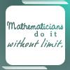 math: do it sans limit