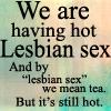 lesbian tea