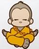 monkey meditate