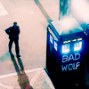 Amanda: Doctor Who - Tardis Bad Wolf // _karmage