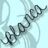 Blanca handwriting