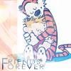calvin - friends forever