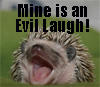 hegemony hedgehog: evil laugh