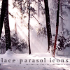 {Lace Parasol Icons}