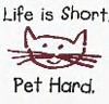 A lesson in life to live by. ;3, Life is short