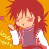 Kurama I love you kiss