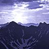 Фото Горы Свет Тьма
