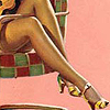 Persephone: pin-up legs
