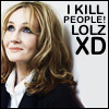 kindof_alluring: JK Rowling killed Sirius and Dumbledore