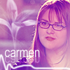 Carmen Ferrara: in glasses