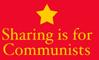 sharing, commie