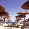 Зонтики, Тунис, Пляж