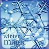 flake, winter, magic