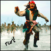 johnny depp, pirates, funny, run, lol