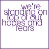 switchfoot, aspire, dream, fear, hope