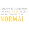 technopagan hippie chick: Dexter - pretending to be normal quote