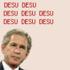bush desu (politics)