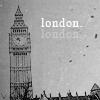 shooting ruber bands up at the stars: London