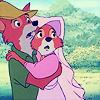 evilmissbecky: Disneys Robin Hood oh noes by samuraiico