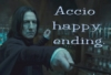 morethansirius: Snape - Blue Accio happy ending