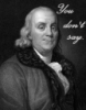 juliabk: Franklin Says