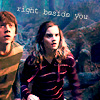 fifilein: Ron/Hermione right beside you