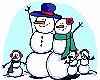 Многодетные снеговики