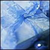 XMAS blue present