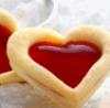 and she was: Juicy Heart Cookie