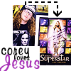 Elle: Corey loves Jesus!