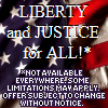 Liberty & Justice for ALMOST All....