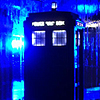 the enemy of fun: DW blue TARDIS