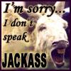 Don't Speak Jackass