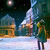 Muppets - Kermit w/ star Christmas Carol