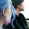 clem joel blue hair
