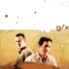 BtVS Giles/Xander -- tan sand