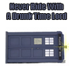 dr who tardis drunk