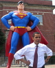 Sen. Barack Obama in Metropolis, (The Other) Superman