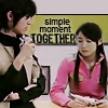 Sakura/Masumi = simple moment together