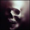 Dark - Skull emerging
