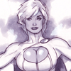Power Girl Adam Hughes