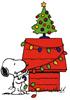 christmas, snoopy