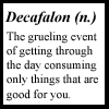 g33k:  decafalon