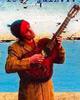 manu con la guitarra